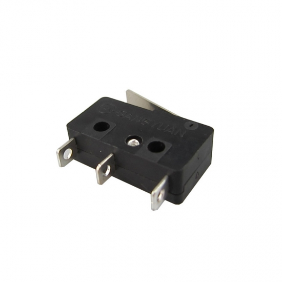 Momentary black micro switch